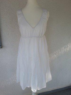 süßes,weißes Kleid im Romantik-Look Gr.38 top Zustand