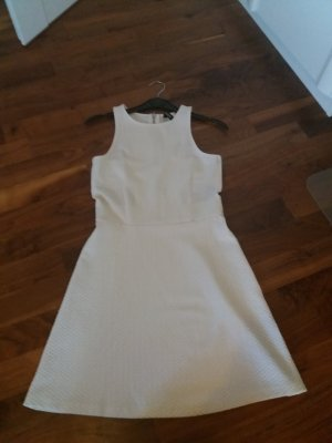 H&M Divided Abito cut out bianco