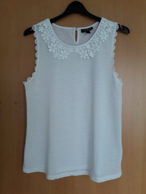Topshop Lace Top white