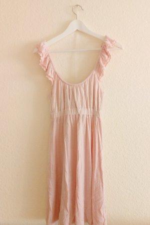 Süßes zartrosanes Sommerkleid