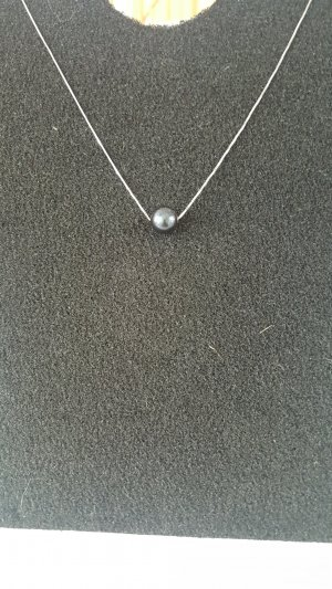 Pearl Necklace anthracite