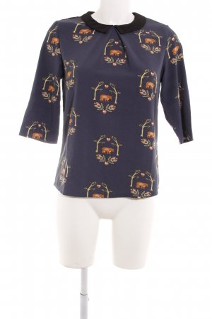 Sugarhill boutique Langarm-Bluse florales Muster Casual-Look