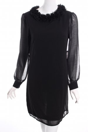 Sugarhill boutique Langarmkleid schwarz klassischer Stil
