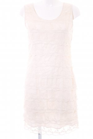 suisses collection Volantkleid creme Casual-Look