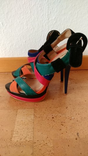Suiteblanco High Heel Sandal multicolored