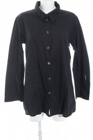 SULU Kerstin Bernecker Long-Bluse schwarz Casual-Look