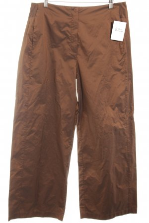 SULU Kerstin Bernecker Palazzo Pants cognac-coloured shimmery