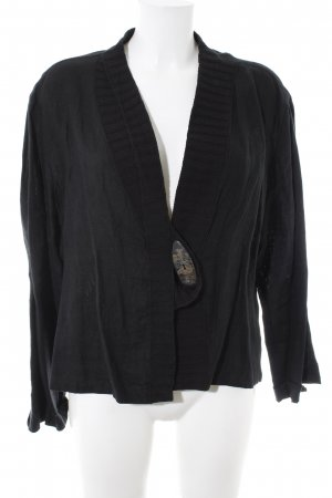 SULU Kerstin Bernecker Shirt Jacket black casual look