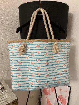 Summer Beach Bag Tasche Melone Maritimlook