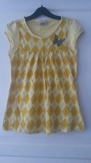 SUMMER SALE -- gelbes Babydoll-Shirt