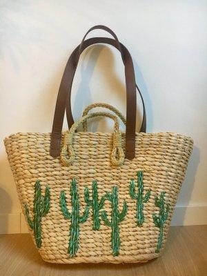 Summerbag Basttasche Korb Ibiza Tasche Hippie bag