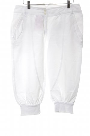 Summum 3/4 Length Trousers white simple style