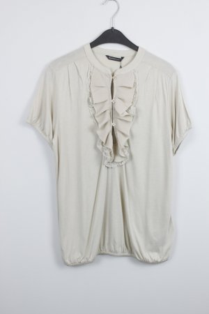 SUMMUM Bluse Gr. M nude hellbeige (18/9/619)