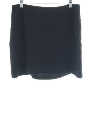 Summum Minirock schwarz schlichter Stil