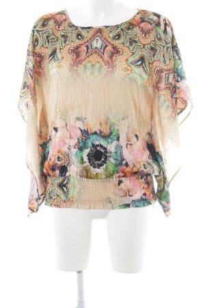 Summum Shirt Tunic flower pattern casual look