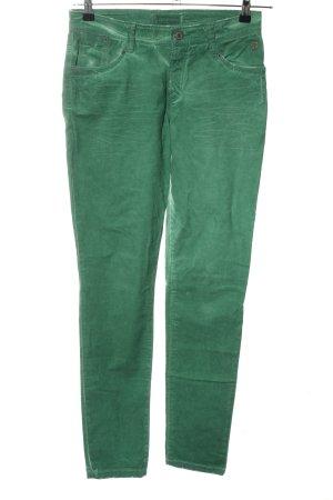 Summum Skinny Jeans grün Casual-Look