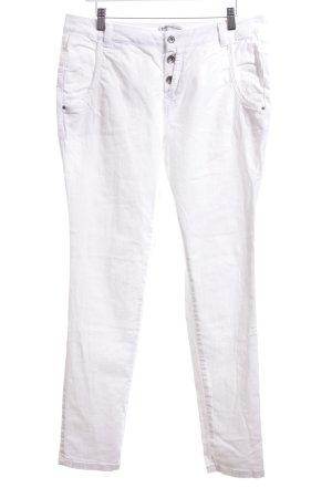 Summum Slim Jeans weiß Casual-Look