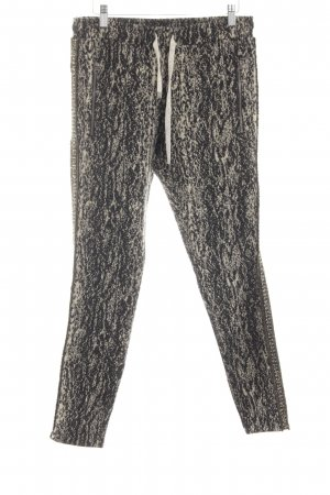 Summum Sweat Pants allover print casual look