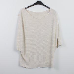 Summum Sweatshirt Pullover Gr. M beige NEU (18/9/415)