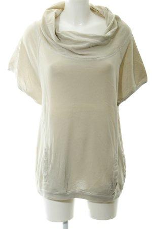 Summum T-Shirt hellbeige Casual-Look