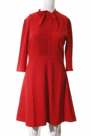 Suncoo A-Linien Kleid rot Business-Look