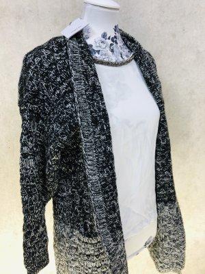 Suncoo Manteau en tricot multicolore