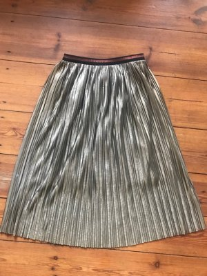 Suncoo Pleated Skirt multicolored polyester