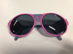 Carrera Aviator Glasses neon pink synthetic material