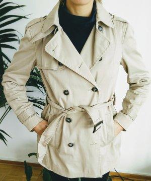 Super beiger Trenchcoat von Zara, Gr. M