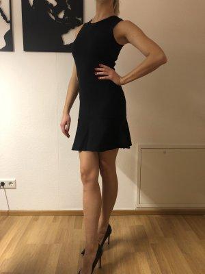 Zara Vestido peplum negro