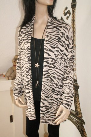 super Cardigan * Animal Print * Zebra * Herbst / Winter *