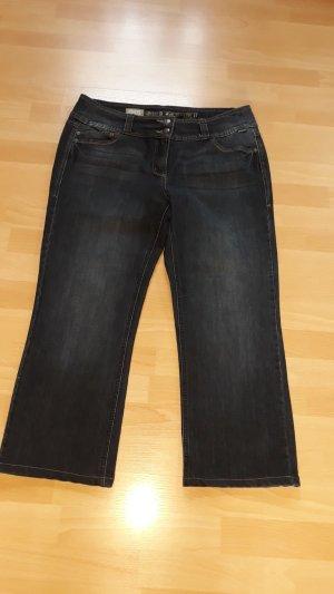 Cecil Jeans svasati blu scuro Tessuto misto