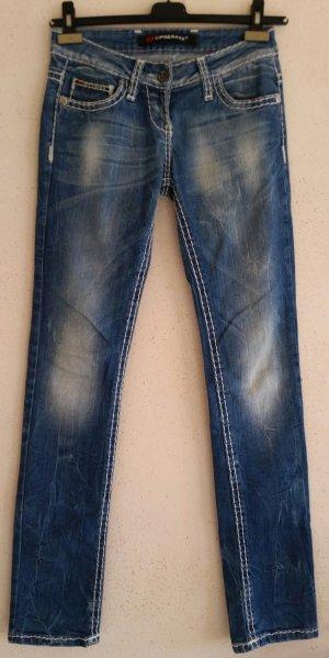 Super Cipo & Baxx Hüft Jeans Gr. W26 / L 34