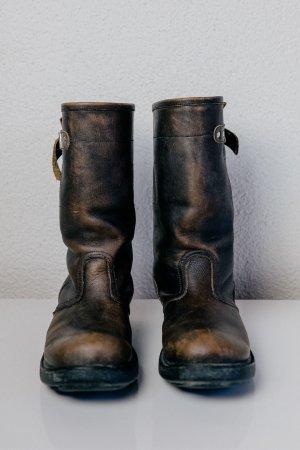 ASH Low boot multicolore cuir