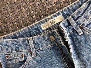 Topshop Wortel jeans blauw-zwart