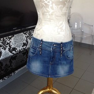 Super coole Jeans Rock von Fornarina
