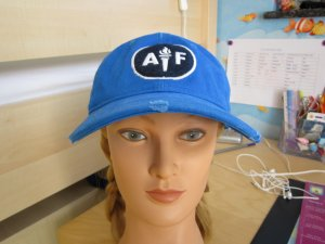 Abercrombie & Fitch Baseball Cap blue