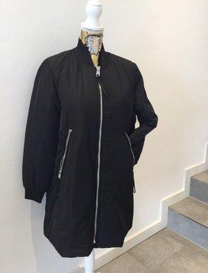 Zara Bomberjack zwart-oranje
