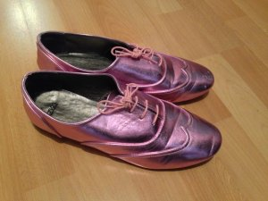 Super Coole Rosa Metallic Loafer ASOS