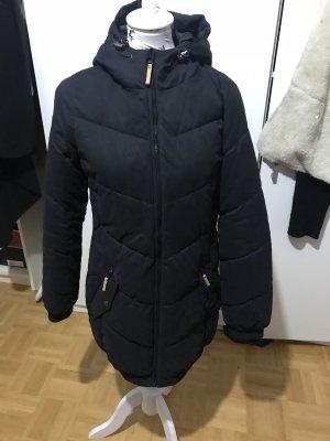 Super coole schwarze Twin TIp Parka Mantel  Jacke