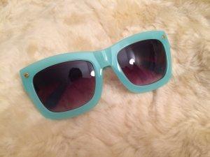Super coole Sonnenbrille in Türkis