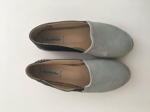 Lika Mimika Zapatos sin cordones verde grisáceo-negro