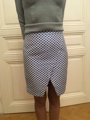 Axara Tulip Skirt white-blue