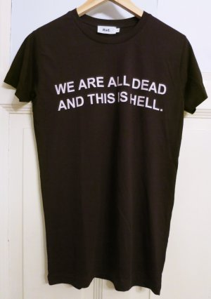 super cooles Shirt, einmal getragen, oversized, Gr.36