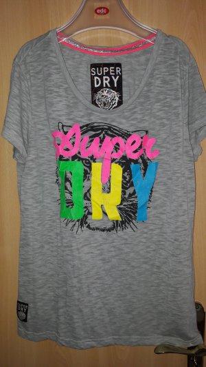 Superdry Shirt met print veelkleurig Katoen