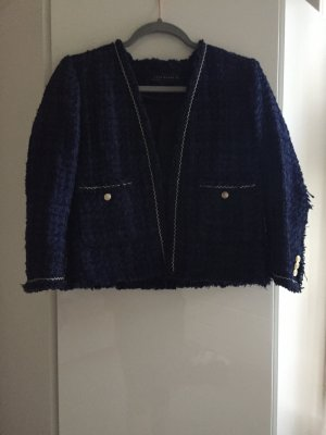 Super elegante Zara Tweed Jacke / Blazer