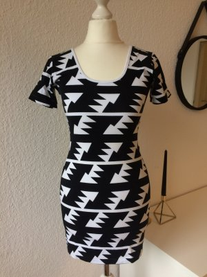 American Apparel Dress white-black