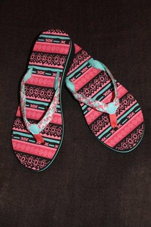 super Flip Flops * Hippie * Boho * Festival * Coachella - Style * NEU *