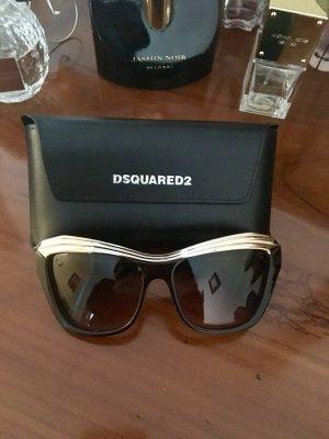 Super geile Dsquared  Brille , schwarz mit Gold