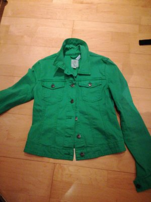 Super Grüne Jeansjacke